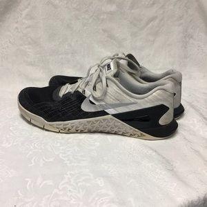 Nike Metcon 3 Men's 12 Shoes Training Black White